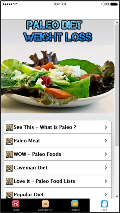 download Paleo Diet Plan & Diet Recipes apps 0