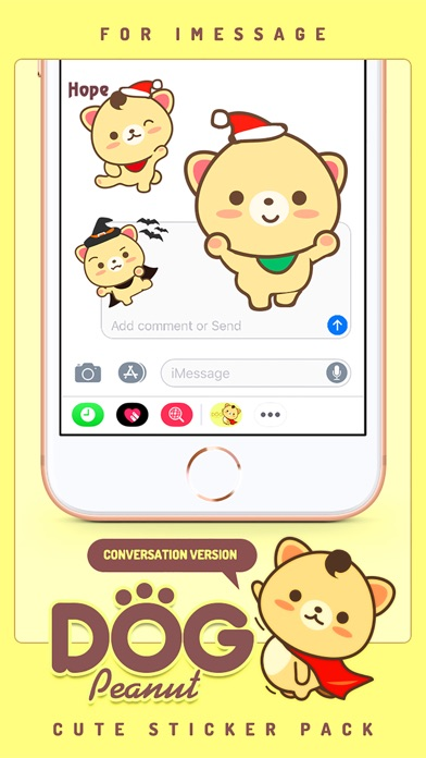 Screenshot of Peanut Dog StickerCute Emoji5