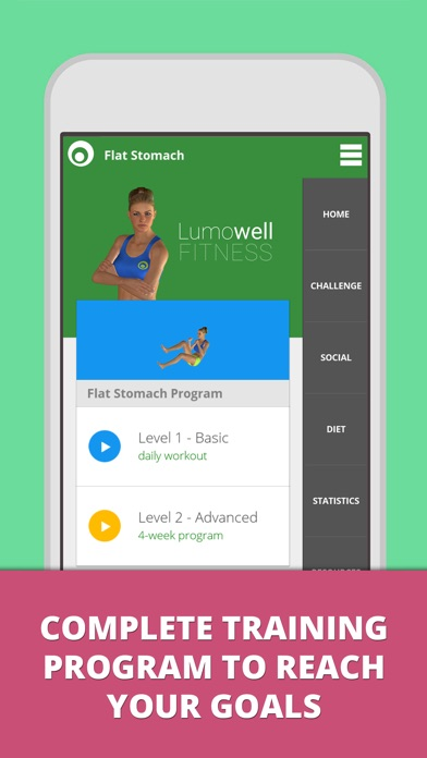 download Flat Stomach Workouts Lumowell apps 2
