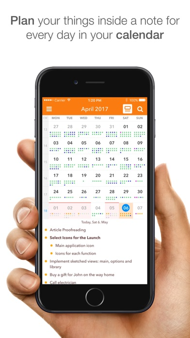 NotePlan: Markdown Todo-List, Notes and Calendar Screenshot 1