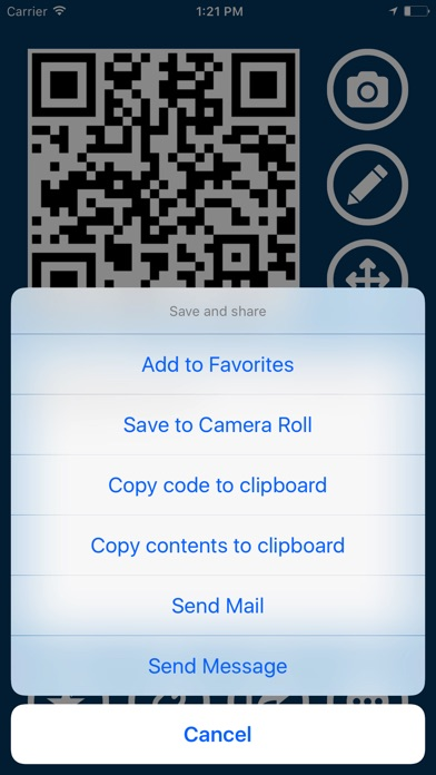 QROX+: QR Code Generator Screenshots