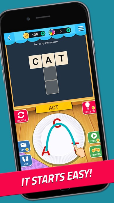Crossword Jam: Fun Brain Game screenshot 2