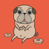 Pug Puppy Sticker Pack!