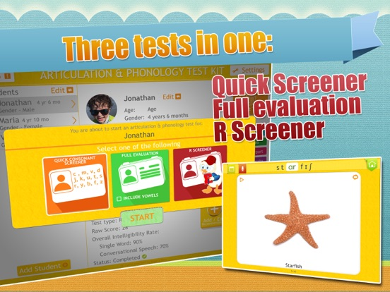 Screenshot #3 for Sunny Articulation Test