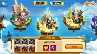 Скриншот Epic Summoners: Monsters War