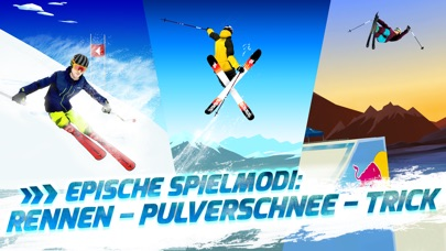 Red Bull Free Skiing iOS Screenshots