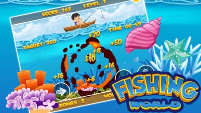 Fishing world game gold miner underwater app download for Fishing tournament app