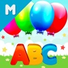 ABC Balloons Pop: Fun Reading A to Z Letters Game