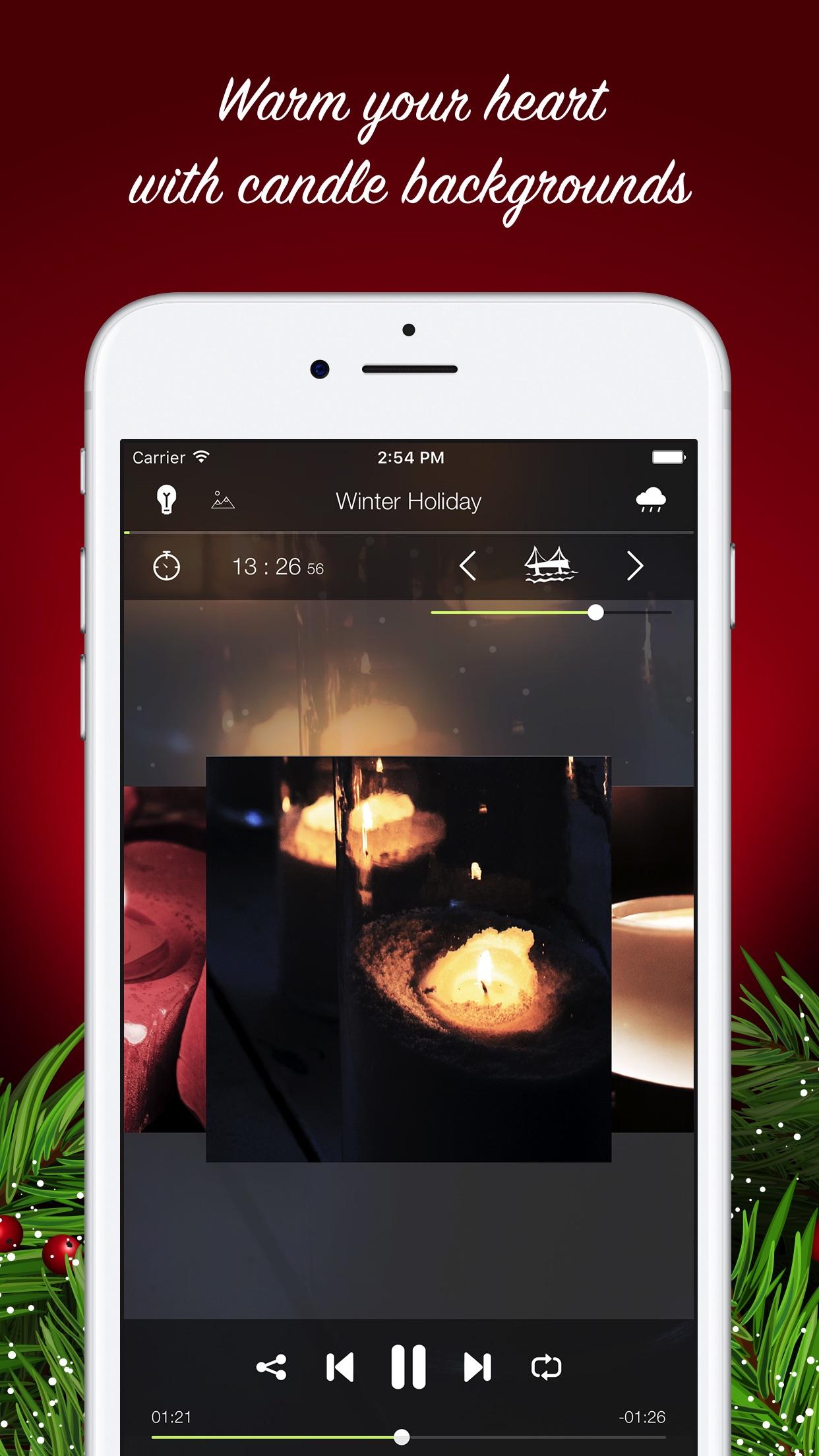经典圣诞歌曲蜡烛传统摇篮曲