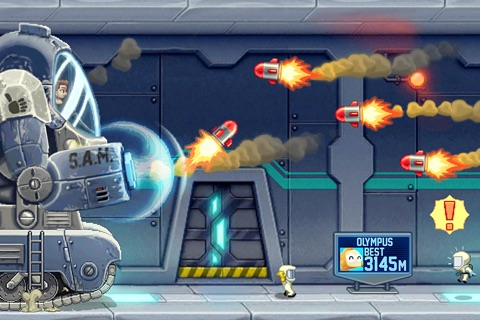 Jetpack Joyride screenshot 4