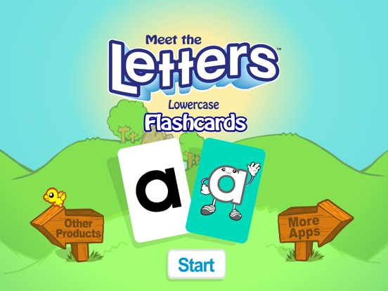 meet the letters and