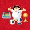 World Soccer Cup 2018 Emoji