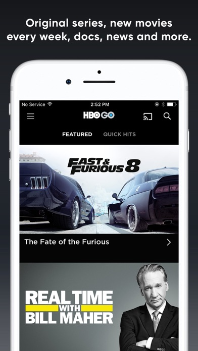 HBO GO: Stream with TV Package Screenshots