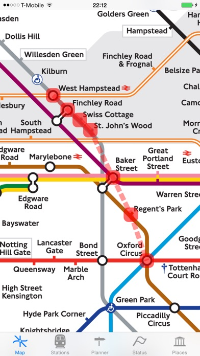 London Tube Map and Guide Скриншоты6