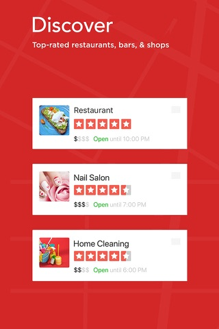 Yelp: Discover Local Favorites screenshot 1