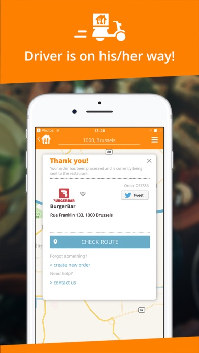 Takeaway.com Скриншоты6