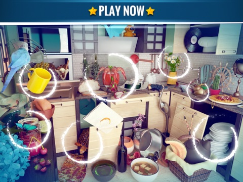 Hidden Objects Messy Kitchen screenshot 3