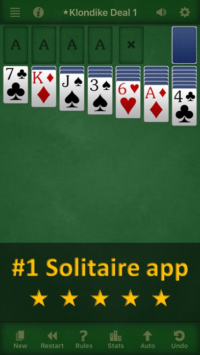 Solebon Solitaire - 50 Games Screenshot