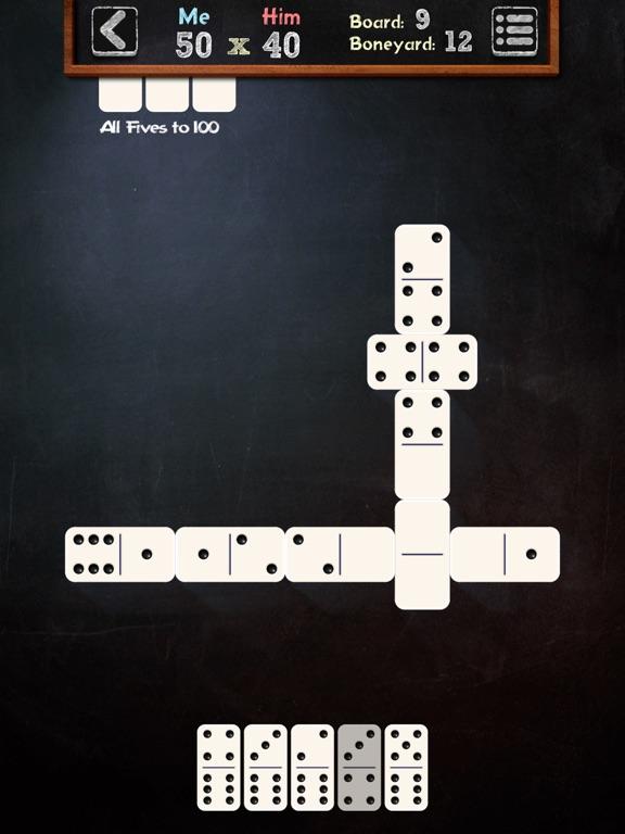 Screenshots of Dominoes Board Game for iPad