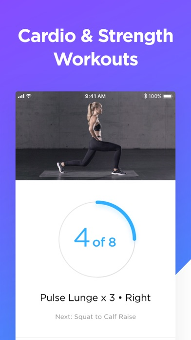 Zova Workout & Fitness Trainer Screenshot