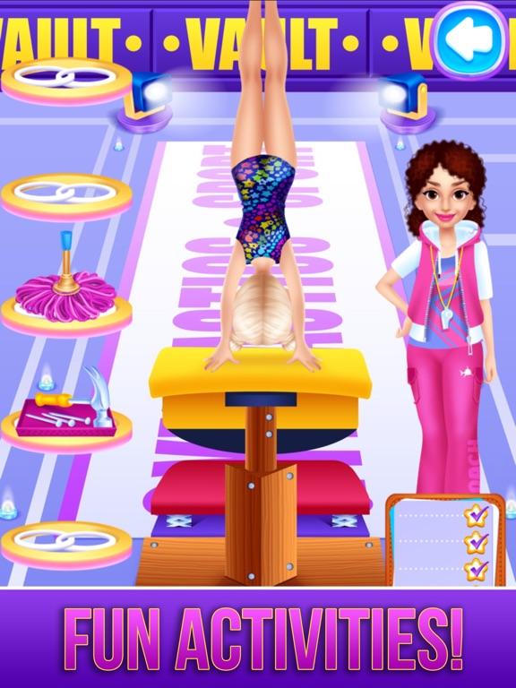 Игра Gymnastics Dance Make Up Salon