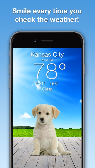 download Weather Puppy: Forecast + Dogs apps 2