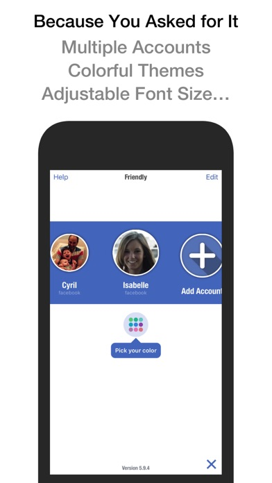 download Friendly Plus for Facebook apps 0