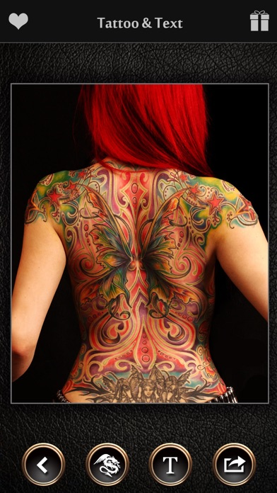 virtual tattoo maker ink art app report on mobile action