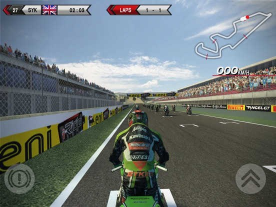 SBK14 Official Mobile Game на iPad