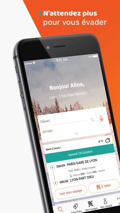 download OUI.sncf : voyages en train apps 0