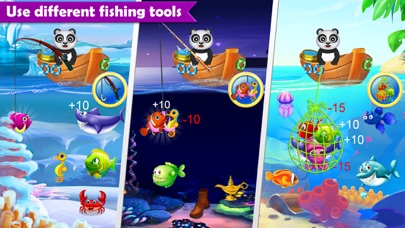Fisher panda best fishing game app download android apk for Best fishing game app