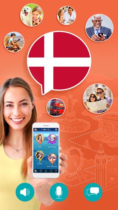 Apprendre le danois – MondlyCapture d'écran de 1