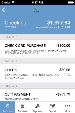 Valliance Bank Mobile Banking screenshot 4