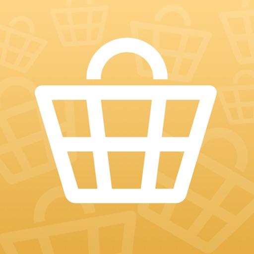 買い物リストを楽しく簡単に:買うものかご