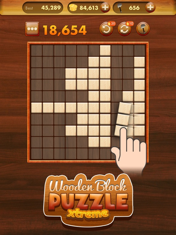 Wooden block puzzle extreme on the app store