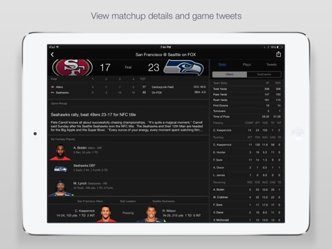 Yahoo Sports: Scores & News screenshot 4
