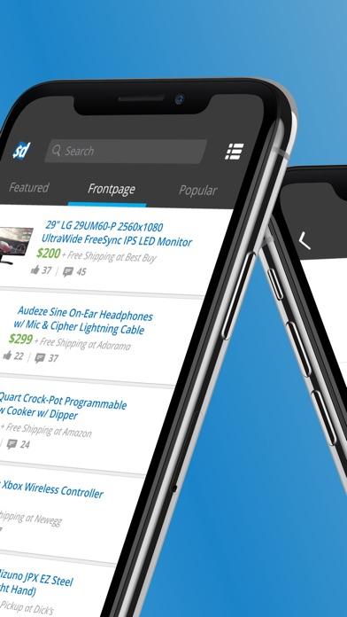 Screenshot 1 for SlickDeals's iPhone app'