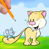 Cat Mickey Coloring Book Game