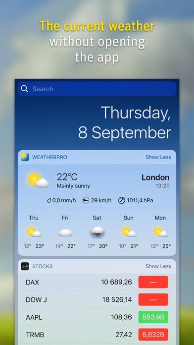 WeatherPro Screenshot 3