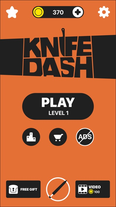 Screenshots of Knife Dash for iPhone