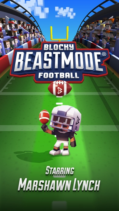 Full Fat releases Blocky BEASTMODE on mobile, starring Marshawn Lynch Image