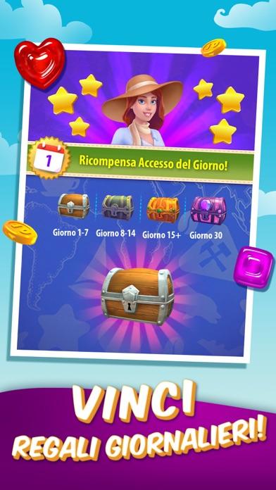Screenshot of Gummy Drop! - Abbina e Viaggia3