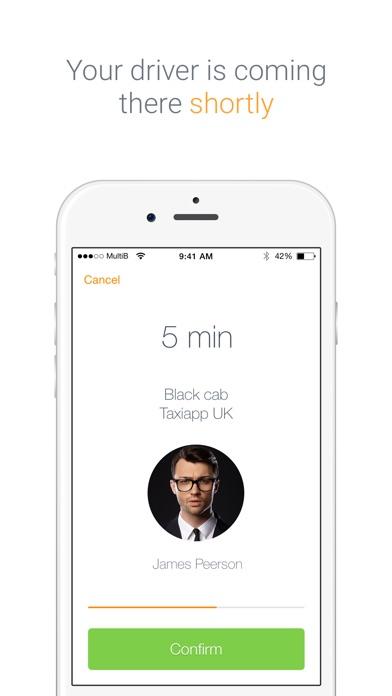 Taxiapp UK Скриншоты5
