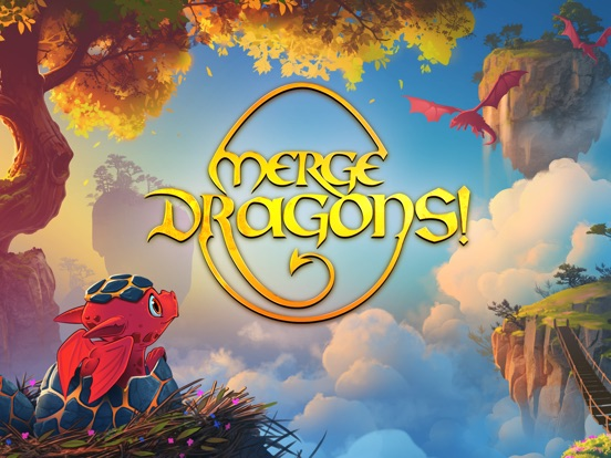 Игра Merge Dragons!