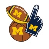 Michigan Wolverines Photo Booth Stickers wolverine hunting boots