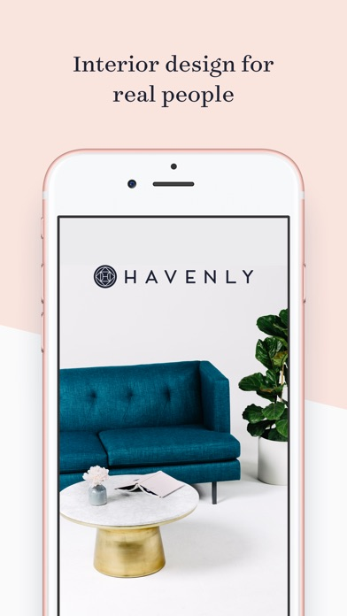 Havenly interior design ideas chat and shopping on the for Interior design shopping app