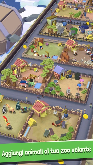 Screenshot of Rodeo Stampede: Sky Zoo Safari2