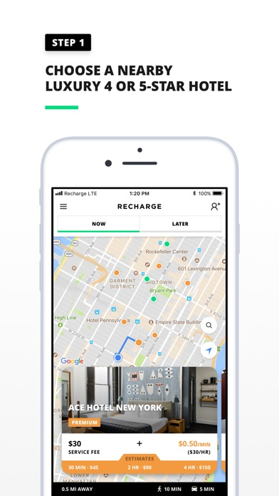 download Recharge: Luxury By The Minute apps 2