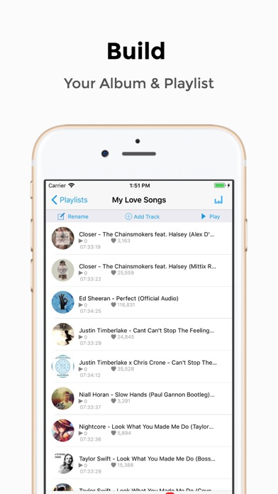 iMusic - MP3 Player & Streamer Screenshot 4
