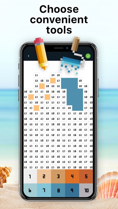 Pixel Art - Color by Number screenshot 3